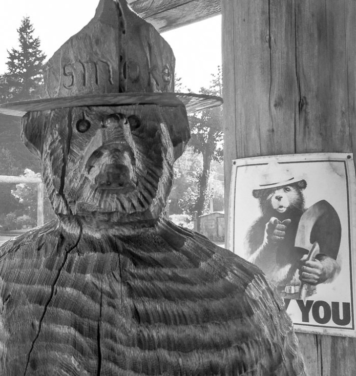 Since my father was a forest ranger, I grew up with Smokey The Bear.
