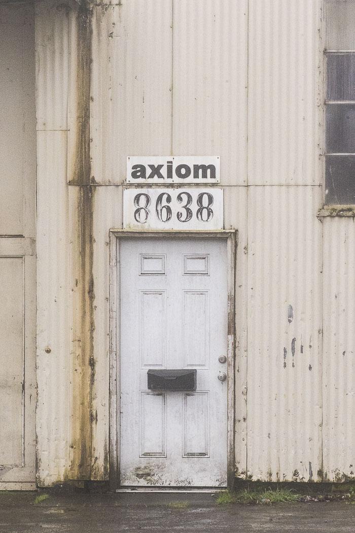 Commercial doorway.