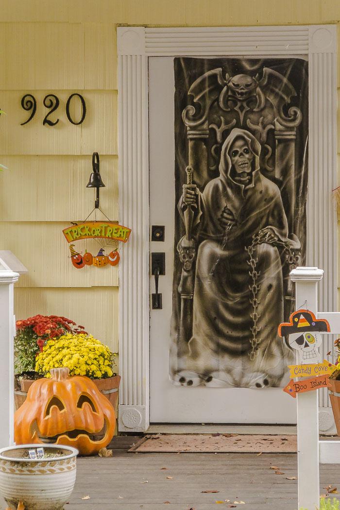 House doorway.
