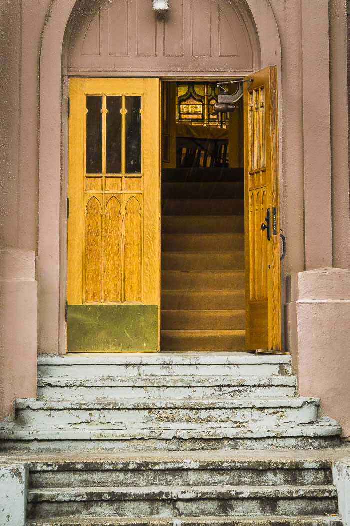 Church doorway.