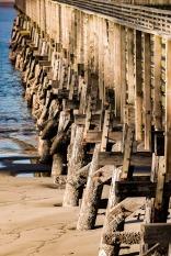 Side of a pier.