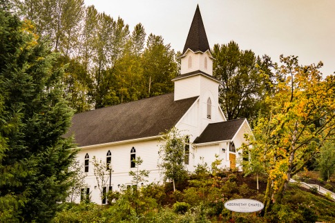 Small country church.