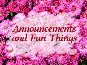 Announcements-and
