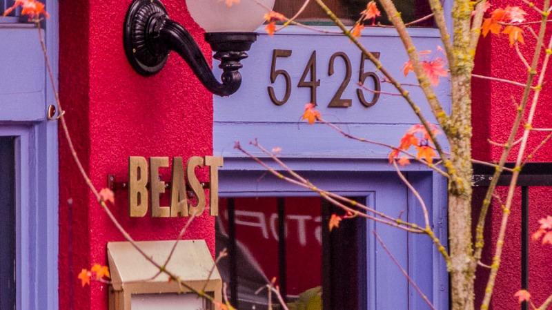 (Feed the) Beast Restaurant, Portland, Oregon.