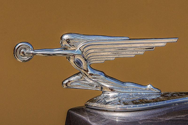 Packard Hood Ornament.