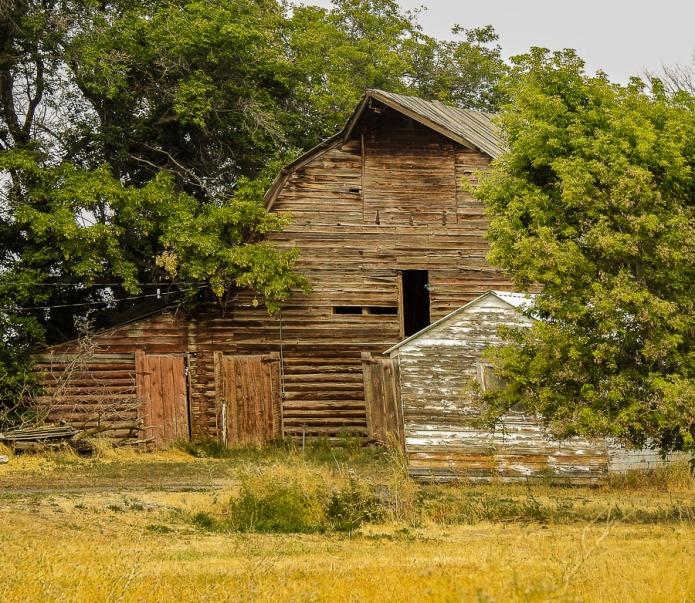 Old barn near Idaho Falls, Idaho.