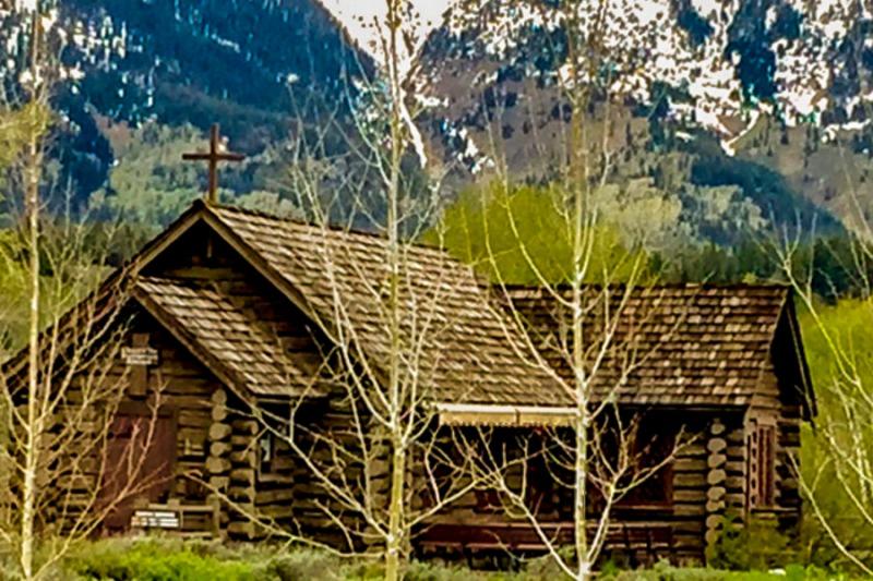 Chapel in Grand Teton park.