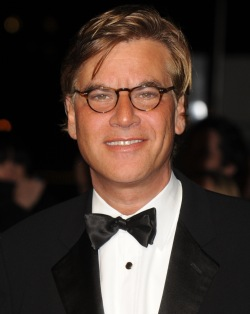 "American screenwriter Aaron Sorkin attends the ""London Film Critics' Circle Film Awards"" at BFI Southbank in London on February 10, 2011.     UPI/Rune Hellestad"