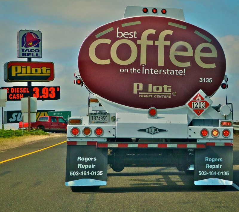 This truck is just to fun for us coffee drinkers.