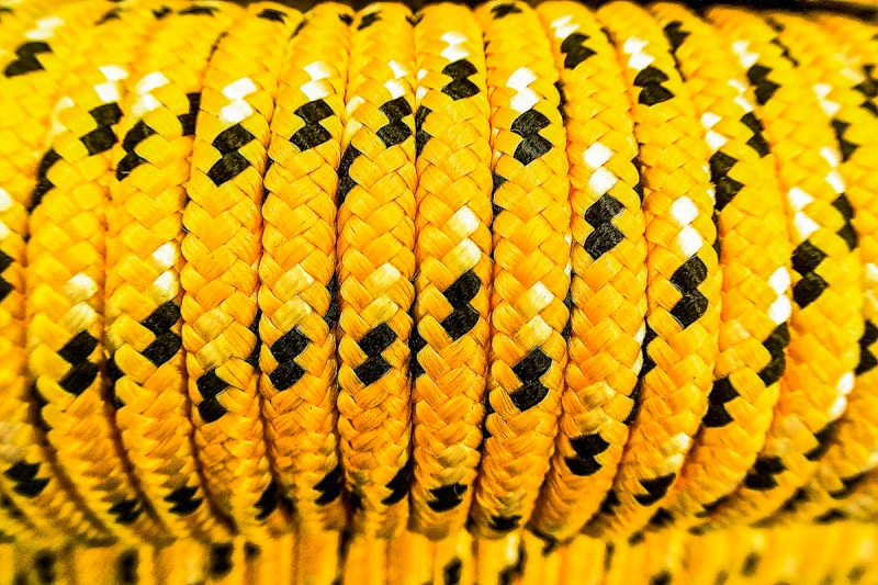 Rope in a store.