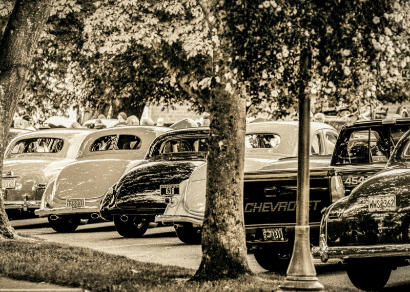 Car show in Canby, Oregon.