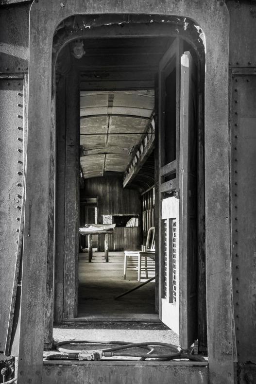 Vintage Passenger Rail Car