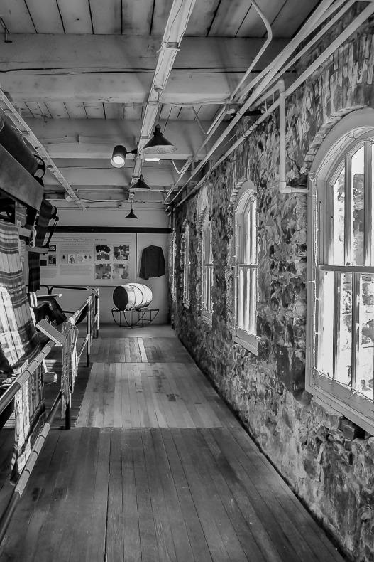 Cee s black white photo challenge indoor walkways for Indoor elevator