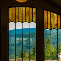 A Photo a Week Challenge: Through Glass