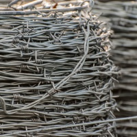 March 25 - #SpikySquares - Barbed Wire Coils