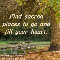 Pick me up  - Find sacred spaces ...