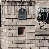 Cee's Black & White Photo Challenge: Stones or Brick