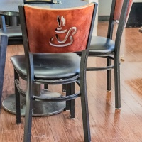 Pull Up A Seat Photo Challenge 2019 Week #48 - Seat and Latte