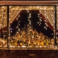 Monday Windows Challenge 12/9/19 - Christmas Window