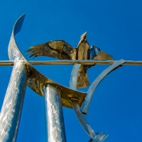 Sculpture Saturday - Week 12 - Wings and Fins