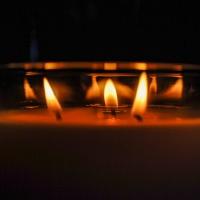 January 15 - Square&___ Light Challenge  - Candle Light for Digi