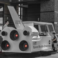 Cee's Black & White Photo Challenge:  Public transportation (bus, planes, trains, etc)