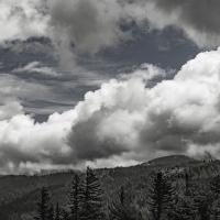 Cee's Black & White Photo Challenge:  Clouds