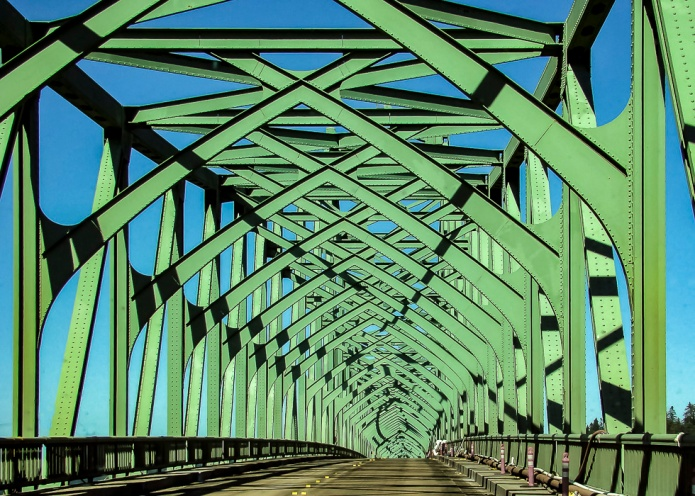 Coos Bay, Oregon Bridge