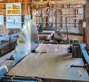Vintage saw mill.