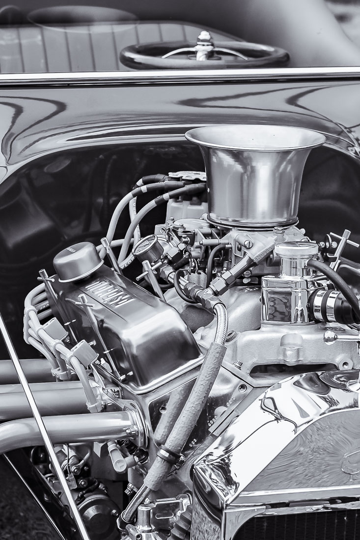 Cee's Black & White Photo Challenge: Anything with a Motor or Engine