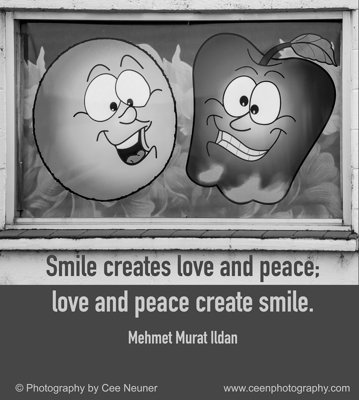 Pick Me Up – Nurturing Thursday – Smile creates love and peace …
