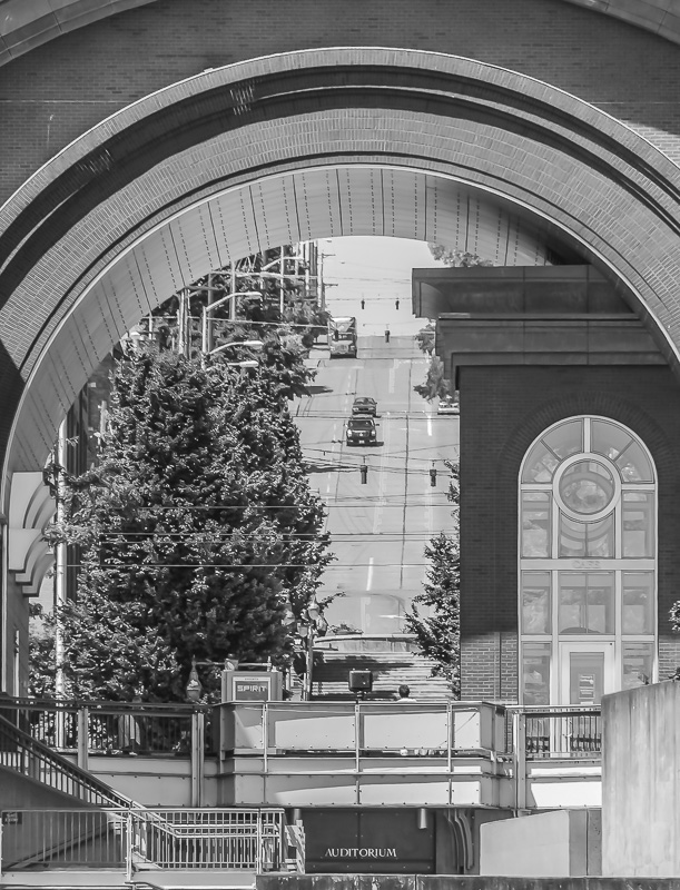 Cee's Black & White Photo Challenge: Half Circles (Creative cropping), Arches, Domes