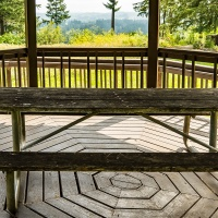 July 4 - SquarePerspectives - Ponderings of a Picnic Table