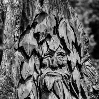 Cee's Black & White Photo Challenge:   Carvings, sculptures and statues