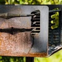 Kammie's Oddball Challenge - BBQ grills at the park