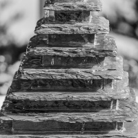 Cee's Black & White Photo Challenge:   Fountains and Sprinklers