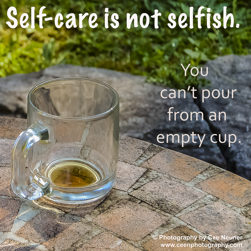 Pick Me Up: Self-care is not selfish