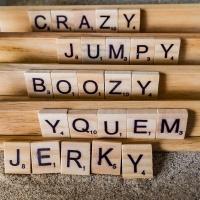 October 21 - KindaSquare -  Scrabble kinda adding up to 19