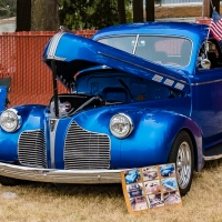 Six Word Saturday - Vintage automobiles with tons of color